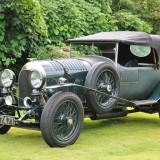 英国で次郎が駆っていた1924年製ベントレー3リッター