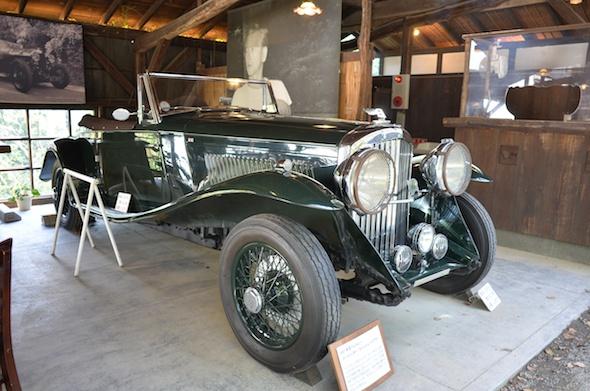 1937年型ベントレー41/4リッター スペシャル・トゥアラー