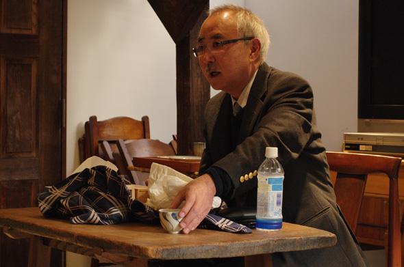武相荘 骨董勉強会「ものと自分」青柳恵介氏
