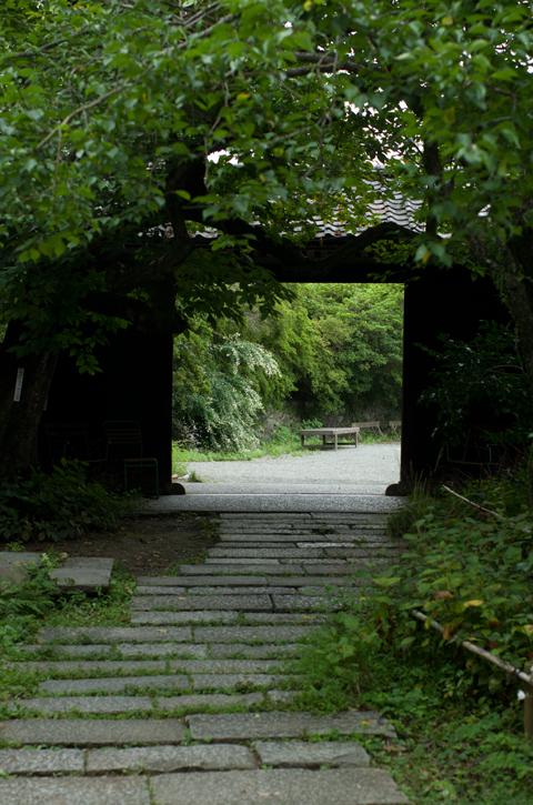 正門と石畳 武相荘