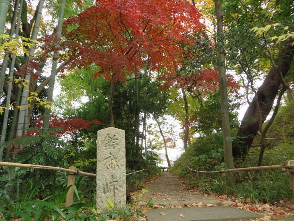 武相荘の紅葉 2017年秋