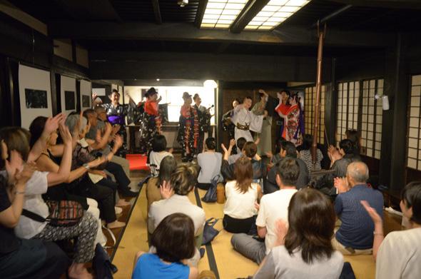 「カチャーシー」沖縄芸能 踊てぃ遊ば