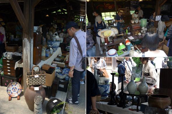 武相荘の骨董市 第7回 写真3