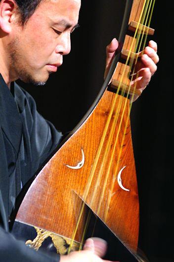 薩摩琵琶奏者 島津義秀さん