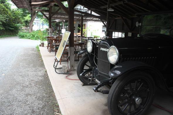 クラッシックカーPAIGE 白洲次郎の愛用車の同型車