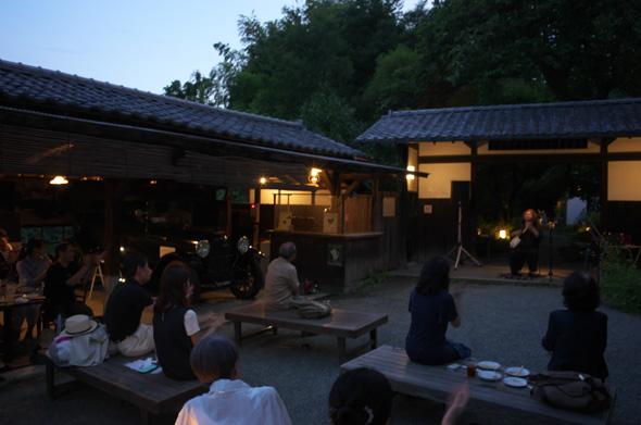 武相荘のコンサート「日本の音 北と南」:後半