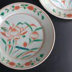 写真: 呉須赤絵皿